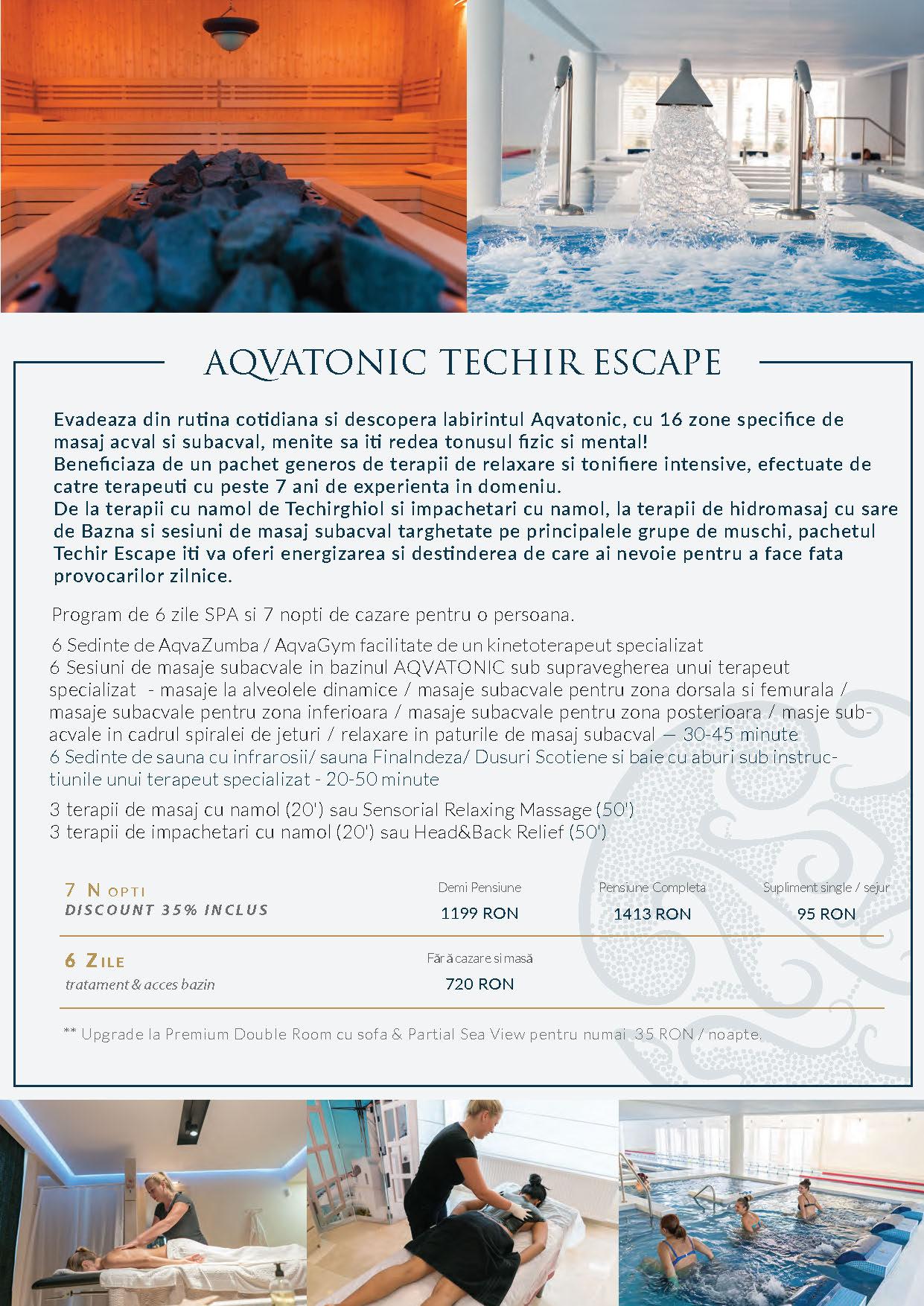 Pachete AQVATONIC BALNEO SPA & Hotel 2017-2018