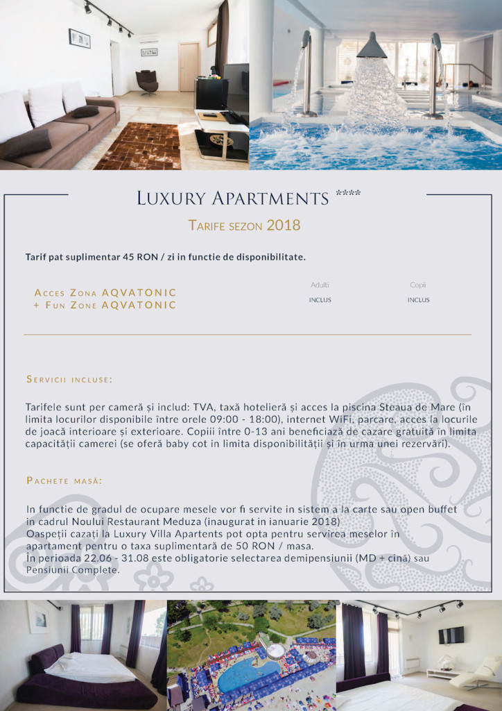 Luxury Apartments Vara 2018
